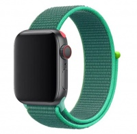 Apple Nylon Strap For Watch Compatible With 38mm & 40mm Teal Tint Photo