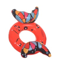 Inflatable Butterfly Wings Red Float Photo