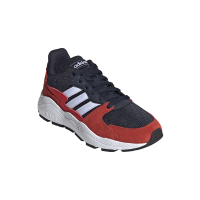 adidas Junior Crazychaos Running Shoes - Blue/White/Red Photo