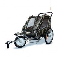 "Venture Gear - Childrens Trailer Stroller and Jogger 3"" 1 for Bicycles Photo"