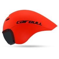 Cairbull Victor - Triathlon -TT - Aero Tail Helmet - Magnetic Visor Photo