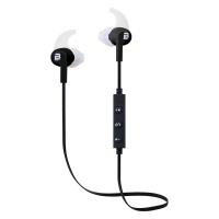 Bounce Pace Series Sports Bluetooth Earphones with Wings - Black Photo