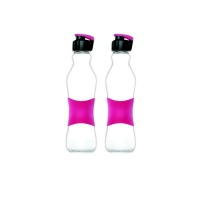 Consol - 500ml Grip n Go Bottle Sports lid Pink - 2pk Photo
