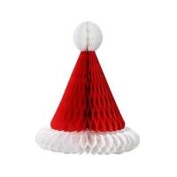 Santa Hat Shaped Paper Honeycombs Photo