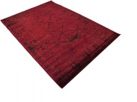 Afghan antique rug with multiple triangles 200x300cm Photo