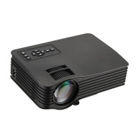 LMA- Portable LED WiFi Home Cinema Projector- Black Photo