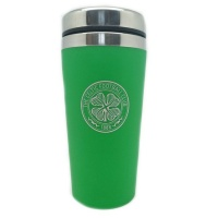 Celtic Aluminium Travel Mug No Handle - 450 ml - Green Photo