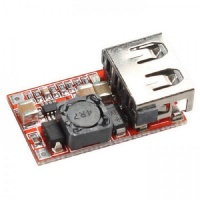USB Step-down 12/24V to 5V 3A Mini DC Power Module Using a MP2315 Photo