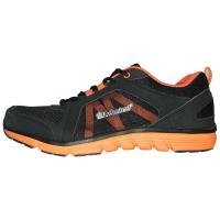 Admiral Manu Sports Shoe - Black / Orange Photo