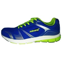 Admiral Bunch Sports Shoe - Royal / Navy / Silver Photo