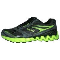 Admiral Bernabe Jogging Shoe - Black / Lime Photo