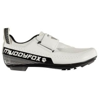 Muddyfox Mens White/Black TRI100 Cycling Shoes [Parallel Import] Photo