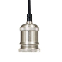 The Lighting Warehouse - Pendant Antico Brushed Silver Photo