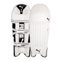 Puma SE White Edition Batting Pads - Men's RH Photo