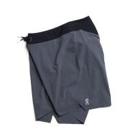 On Running - Lightweight Shorts Shadow Black Men's Photo