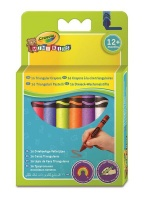 Crayola 16 Triangular Crayons Photo