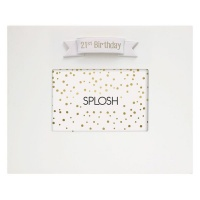 Splosh 21st Signature Frame Photo