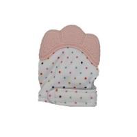 Baby Teething Mitten - Pink Photo