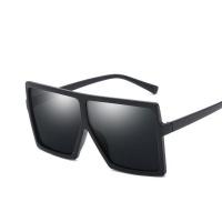 Sophie Moda-Oversized Square Flat Top Fashion Shades Sunglasses Photo