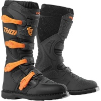 Thor Blitz XP Charcoal/Orange Boots Photo