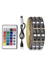 Loop Strip Lights LED Multicoloured USB Powered Flexible 5050 RGB - 5m Photo
