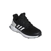 adidas Junior Rapidarun Knit Shoes - Black/White Photo