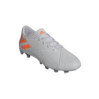 adidas Men's Nemeziz 19.4 Flexible Ground Soccer Boots - Grey/Orange Photo