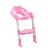 Children's Toilet Seat Chair - Pink Photo