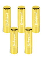 5 pack Bridesmaid Metallic Fashion Lip Balm Photo