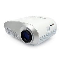 LMA- Classics LED MINI Projector for TV Movie Video Home Cinema- White Photo