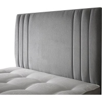Raymonde Audigier 7th & Vogue By - Blanche Velvet Headboard - Slate Photo