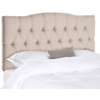 Raymonde Audigier 7th & Vogue By - Chole Tufted Velvet Headboard - Rain Photo