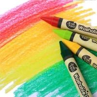 Jarmelo Washable Wax Crayons: 24 Colours Photo