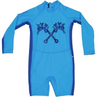 Parental Instinct Boys Quick Dry Sun Protection Hybrid Swimsuit Photo