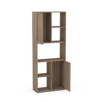 Click Furniture Click 5 Cube 2 Door Brown Bookcase Photo