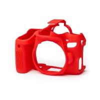 EasyCover PRO Silicone Camera Case for Canon 77D - Red Digital Camera Photo