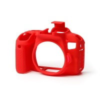 EasyCover PRO Silicone Camera Case for Canon 800D - Red Digital Camera Photo