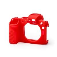 EasyCover PRO Silicone Camera Case for Canon R - Red Digital Camera Photo