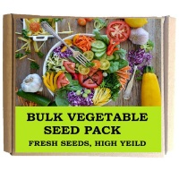 Seedleme Bargain Bulk Pack of Fresh Vegetable and Herb Seeds by Photo