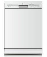 Midea - 12 Place Dishwasher - White Photo