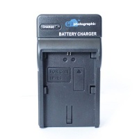 E Photographic E-Photographic Compact Charger for Canon LP-E6 DSLR Battery Photo