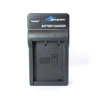 E Photographic E-Photographic Compact Charger for FUJIFILM W126S DSLR Battery Photo