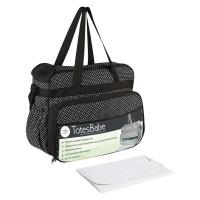Totes Babe Vivir Diaper Bag - 20L - Black Photo