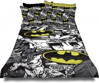 Batman 'Comic' Duvet Cover Set Photo