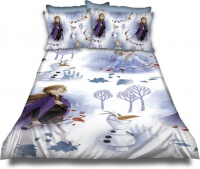Disney Frozen Frozen 'Forrest' Duvet Cover Set Photo