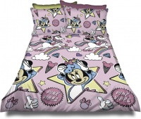 Minnie Mouse 'Unicorn' Duvet Cover Set Photo