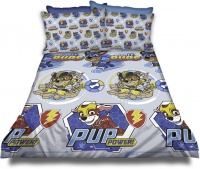 Paw Patrol 'Mighty Pups' Duvet Cover Set Photo