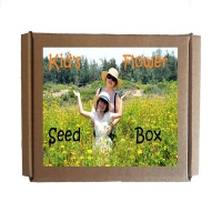 Seedleme Kids Flower seed box - Easy growing flowers Photo