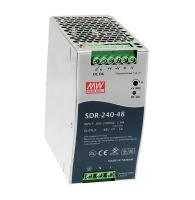 Mean Well AC/DC DIN Rail Power Supply ITE 1 Output 240 W SDR-240-24 Photo