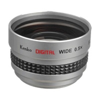 Kenko 37mm 0.5X Wide Converter For Video Camera Photo